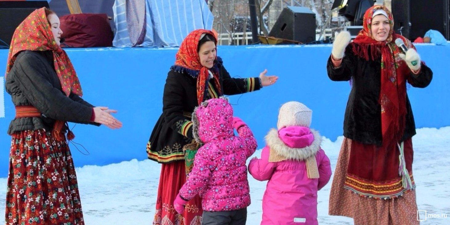 Рождество в Сиреневом саду. Официальный сайт Мэра Москвы