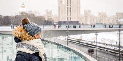 Холодная и снежная погода сохранится в столице до 11 февраля