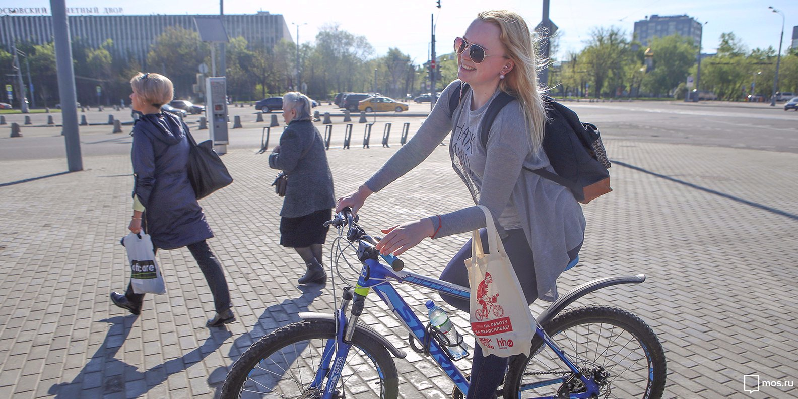 Акция «Наработу навелосипеде» пройдет в столице России 22сентября