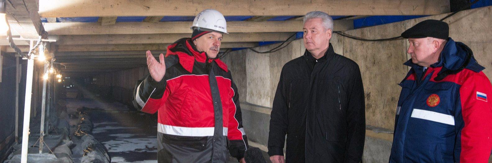 Сергей Собягнин, нагатинский мост