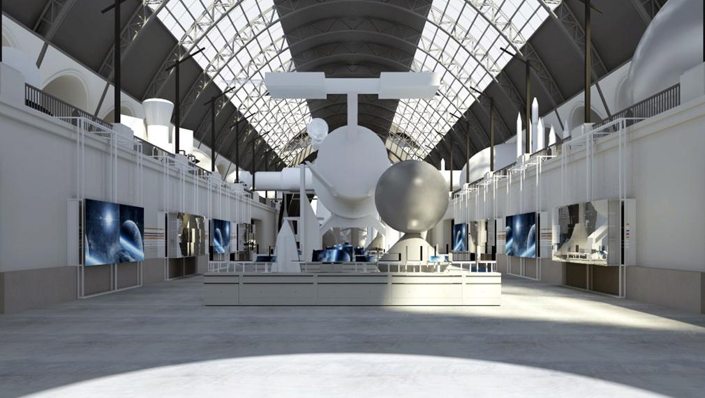 В павильон «Космос» доставили последний модуль макета орбитальной станции «Мир»