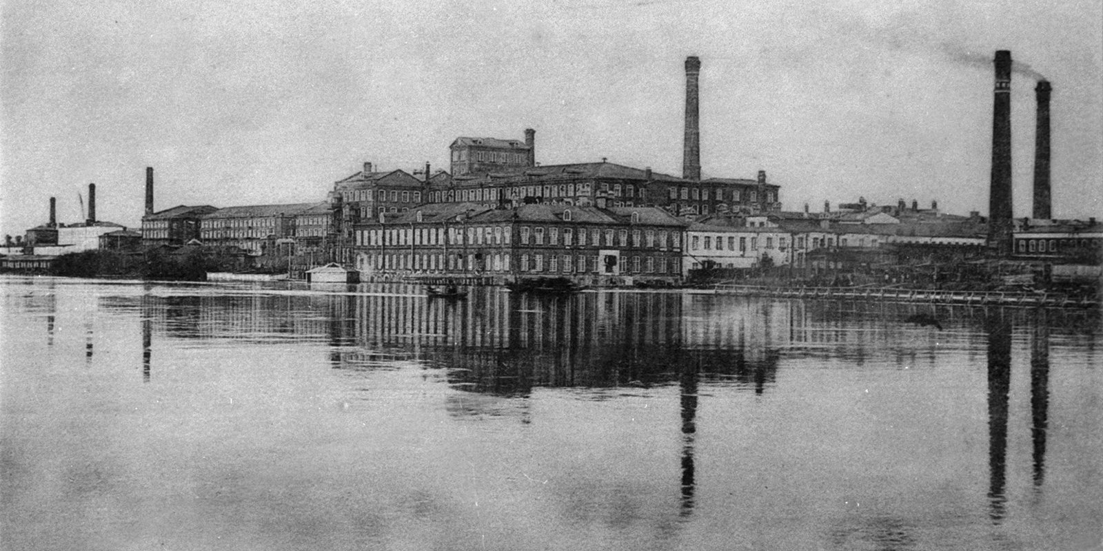ikolskaya Manufactory owned by the Morozovs