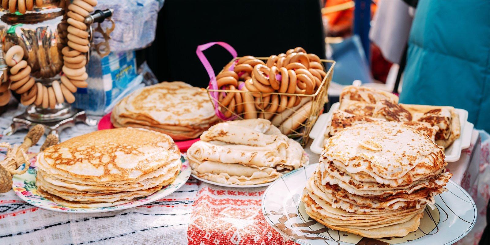 Мужская мода и марокканские блины: длинные выходные на фестивале «Московская Масленица»