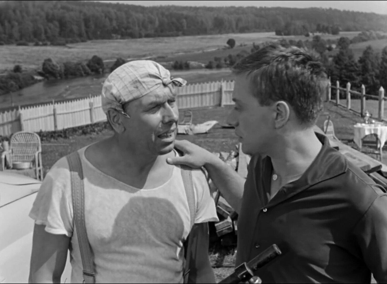 Кадр из фильма «Берегись автомобиля». Режиссер Э. Рязанов. 1966 год
