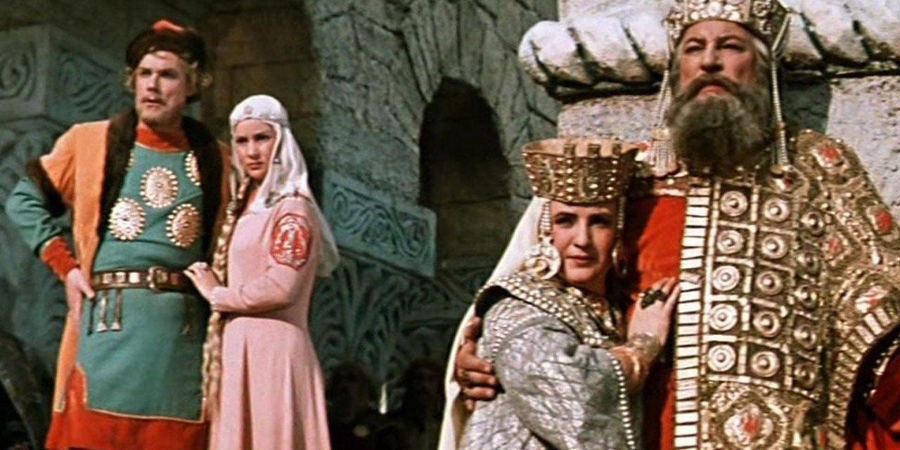 Кадр из фильма «Илья Муромец». Режиссер Александр Птушко. 1956 год