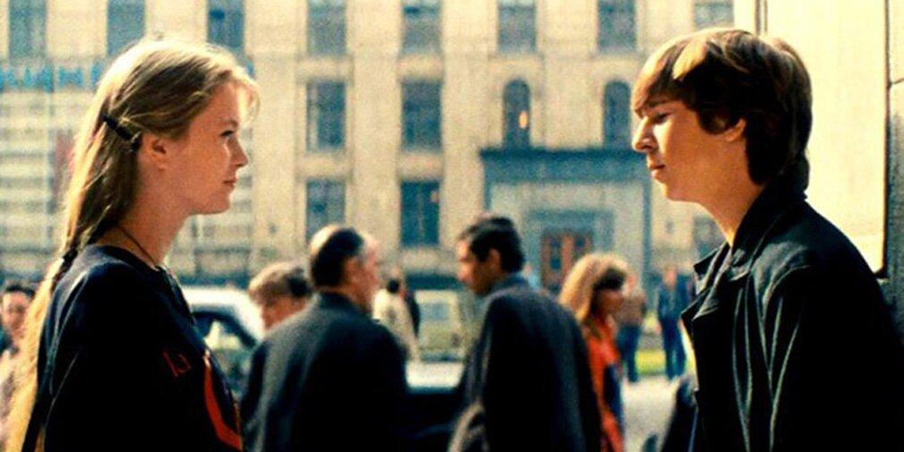 Кадр из фильма «Курьер». Режиссер К. Шахназаров. 1986 год