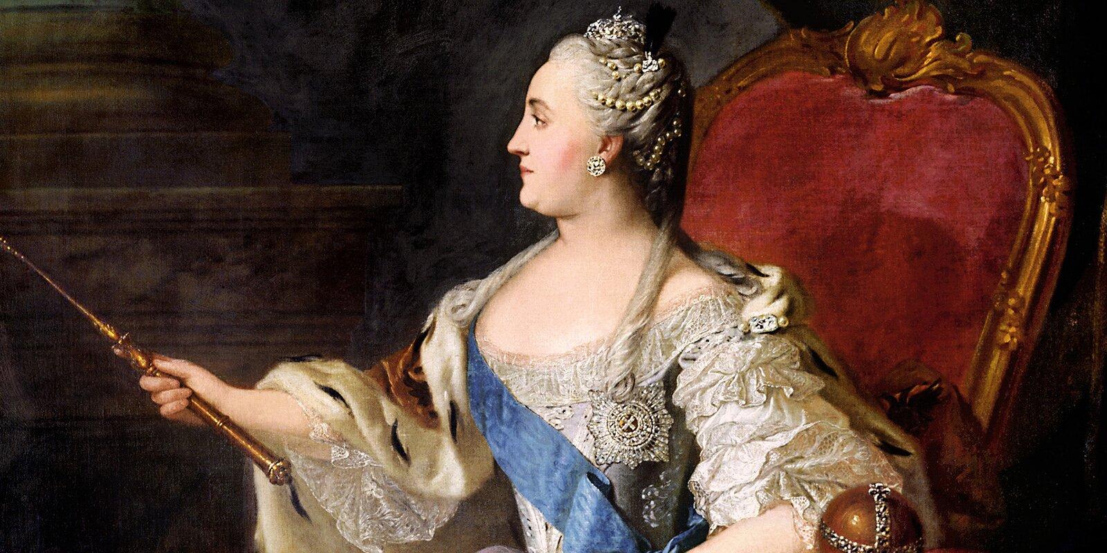 Ф. Рокотов. Портрет Екатерины II. 1763 год