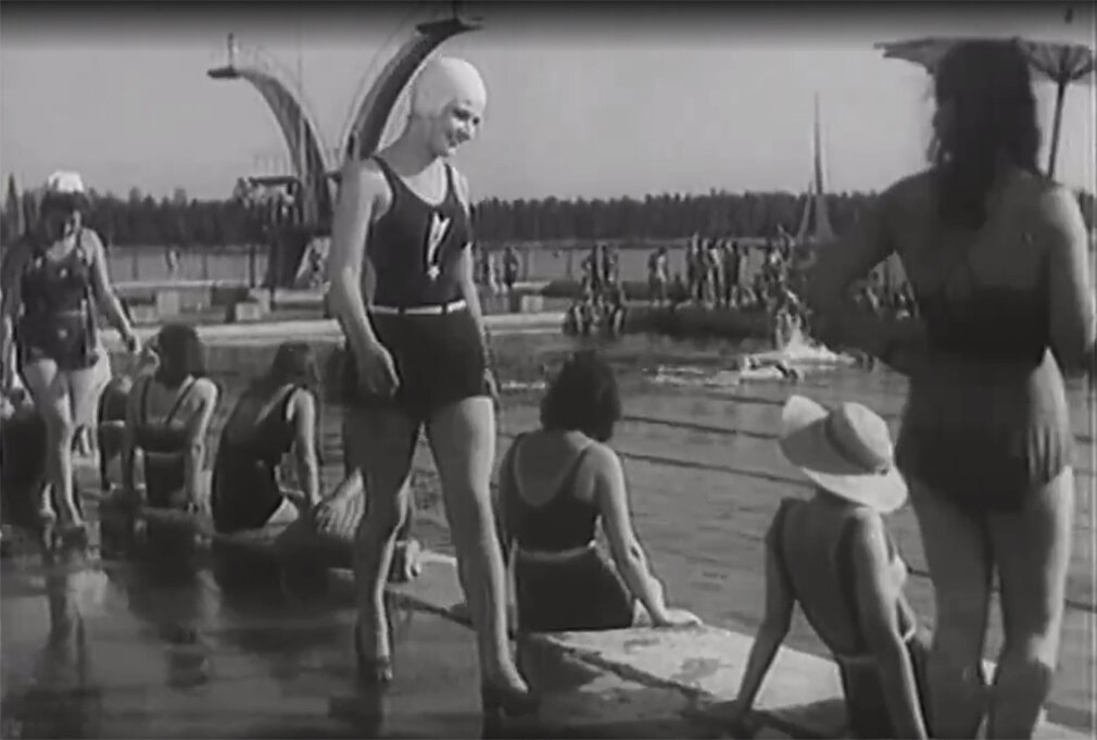 Still from The First Glove movie. Directed by Andrey Frolov. 1946