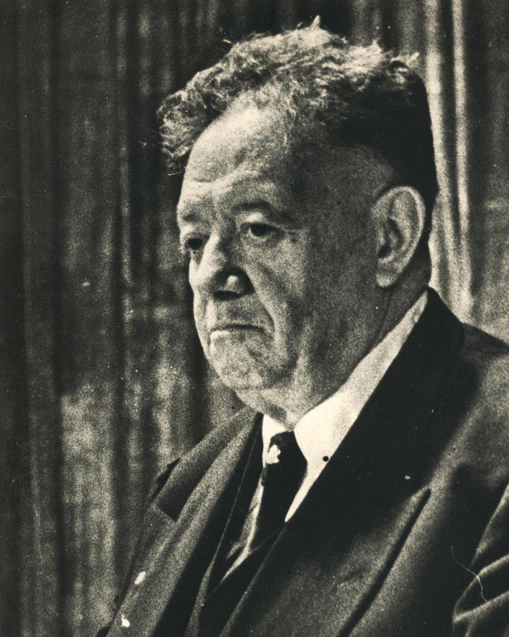 Диего Ривера в Москве. 1950-е годы. Из коллекции Государственного музея В.В. Маяковского