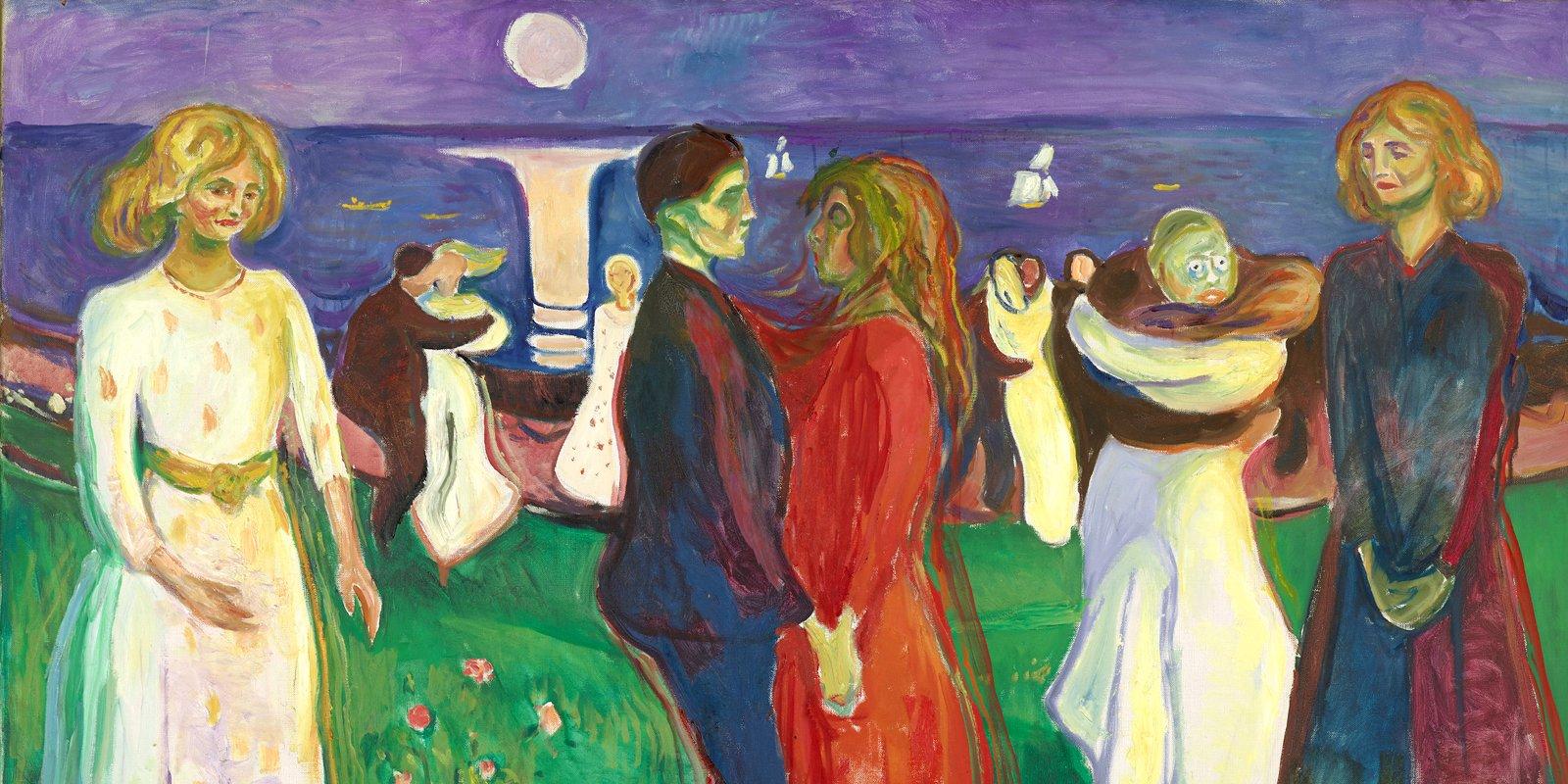 Э. Мунк. Танец жизни. 1925 год