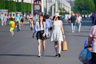 Жара до 33 градусов сохранится в Москве до конца следующей недели