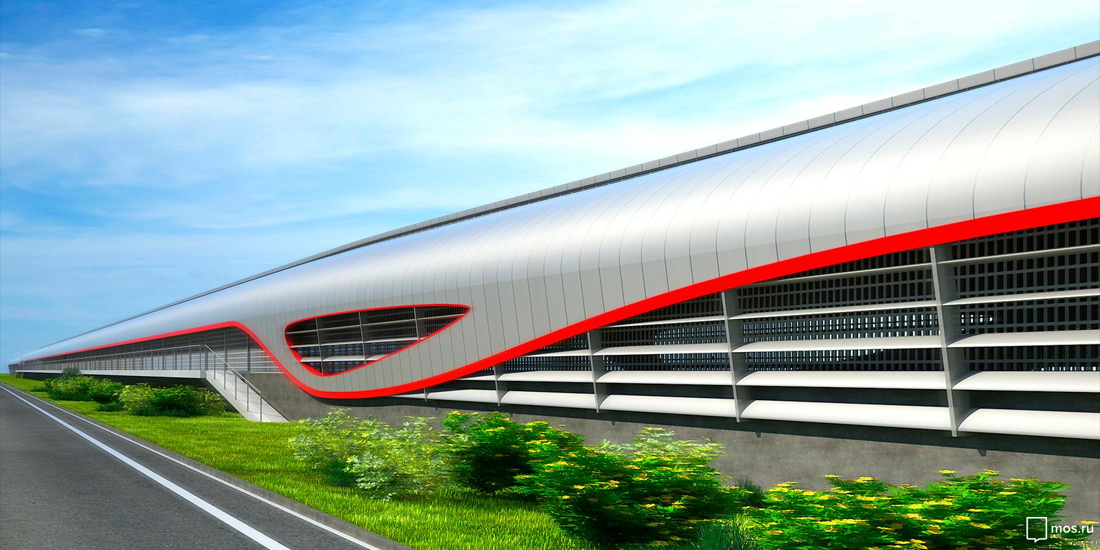 Контур движущегося поезда: участок метро от «Саларьева» до «Столбова» накроют навесами