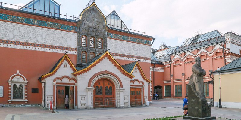 From the Tretyakov Gallery to the Bakhrushin Museum: the top five buildings in the Zamoskvorechye District