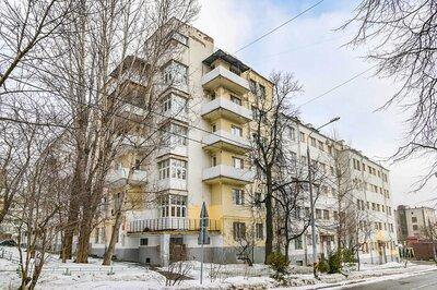 В районе Сокольники отремонтируют крышу исторического здания в стиле конструктивизма