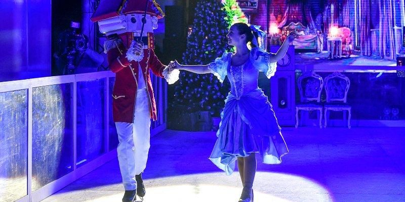 В метро показали ледовое шоу «Щелкунчик»