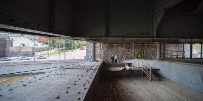 Ремонт Большого Каменного моста идет в круглосуточном режиме