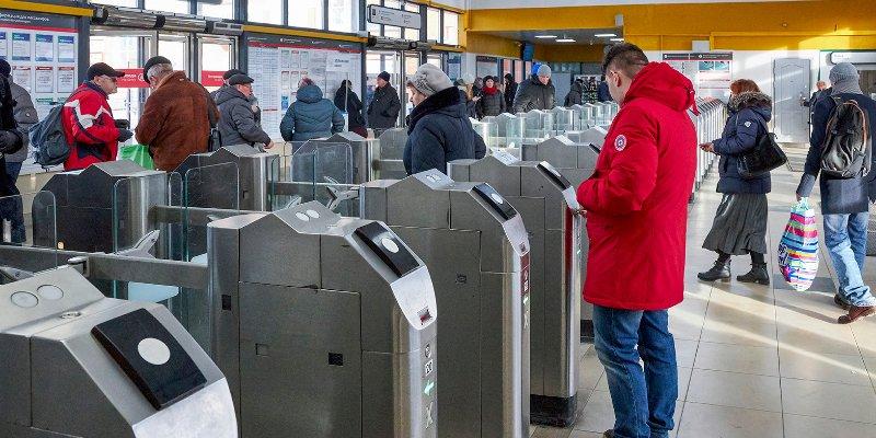 Царицыно и Тушинская: какие еще станции МЦД были популярны в новогодние праздники