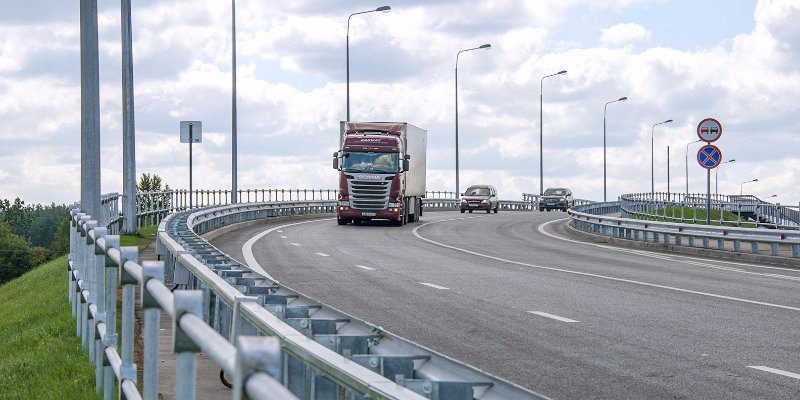 Motorway overpass opens in Kryokshino