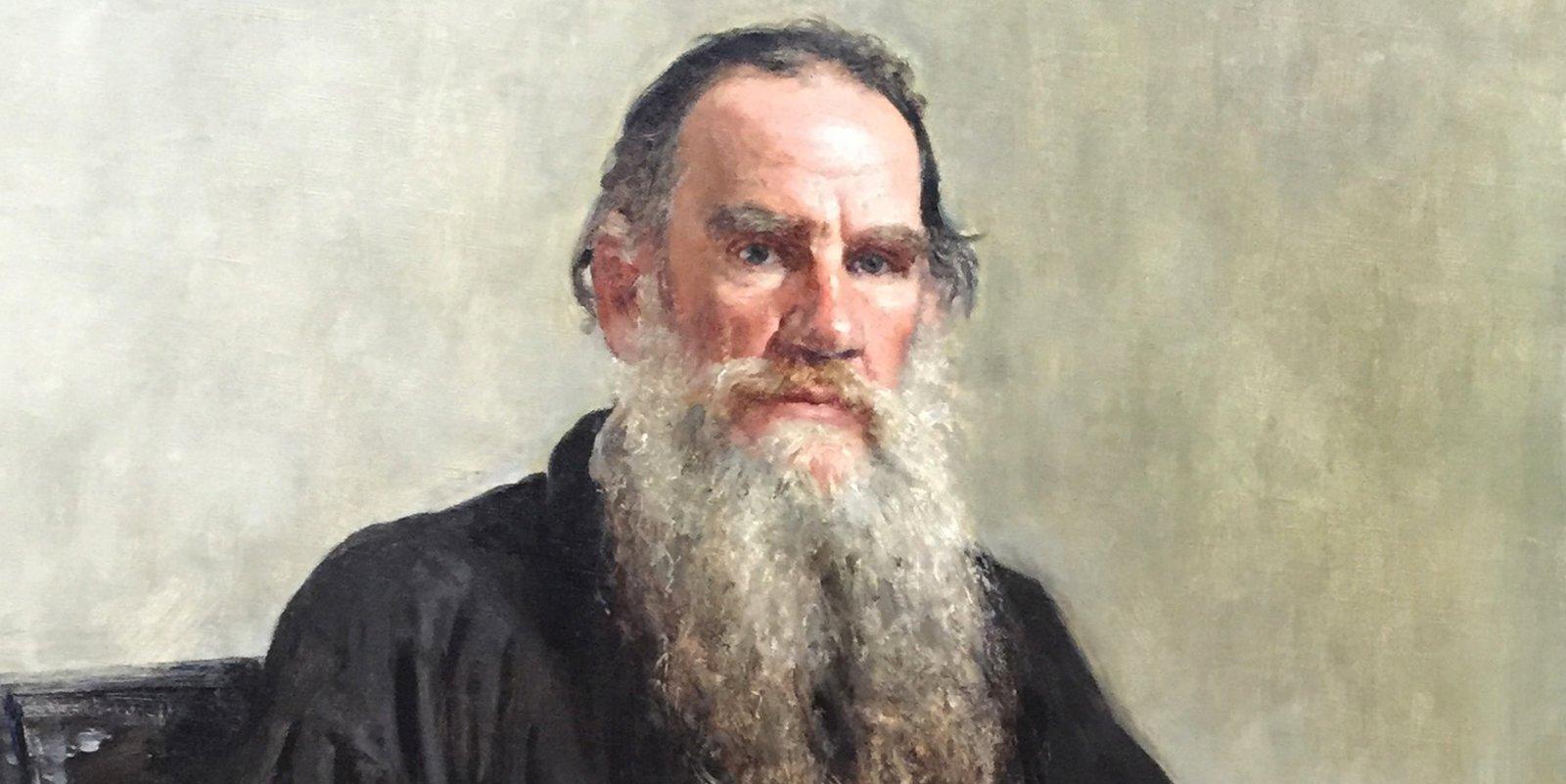 И. Репин. Портрет Льва Толстого. Фрагмент. 1887 год