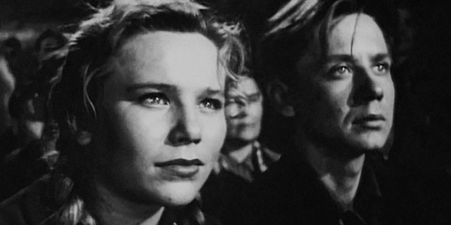 Кадр из фильма «Тугой-узел». Режиссер Михаил Швейцер. 1956 год