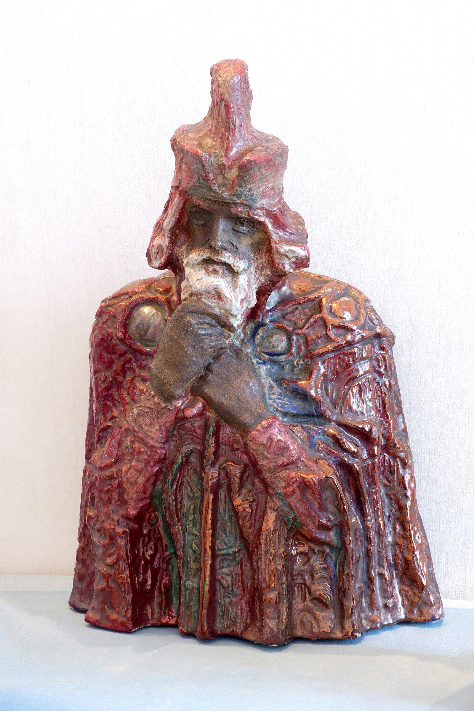 М. Врубель. Скульптура «Царь Берендей». 1899–1900 годы