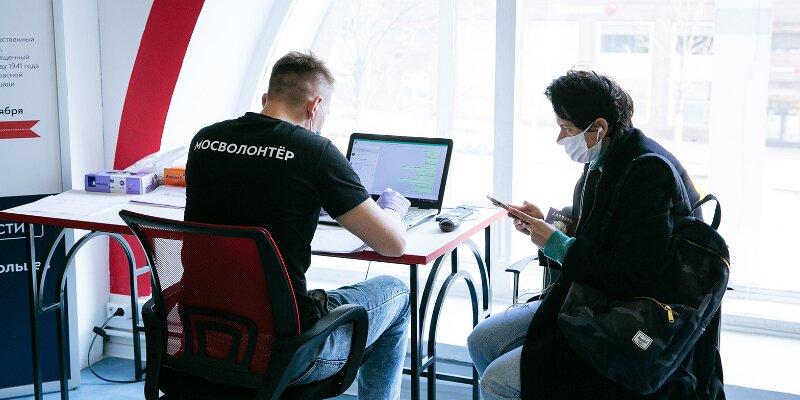 С начала года число волонтеров Москвы увеличилось более чем на 15 тысяч человек