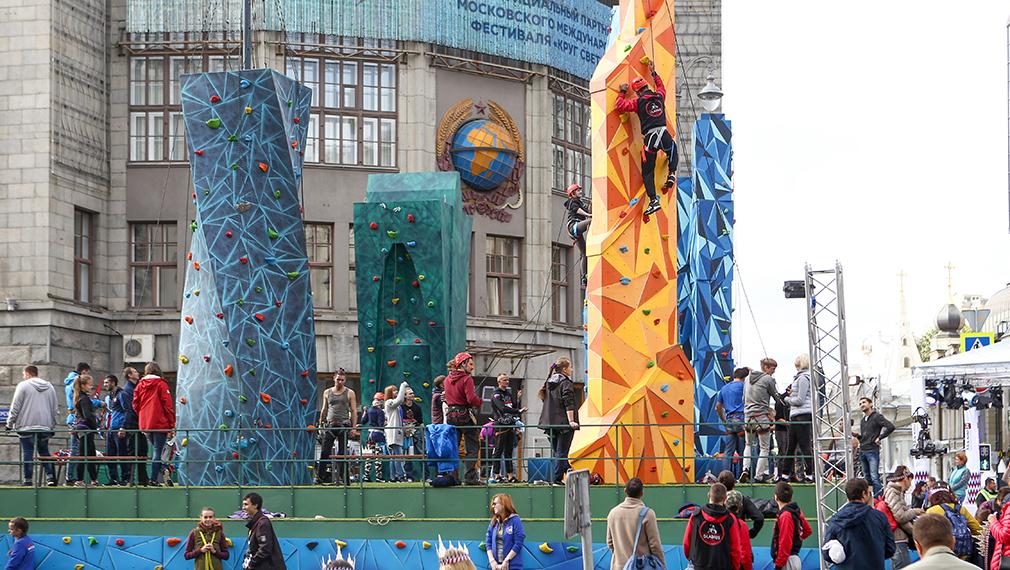 Тверская улица стала основной площадкой празднования юбилея столицы