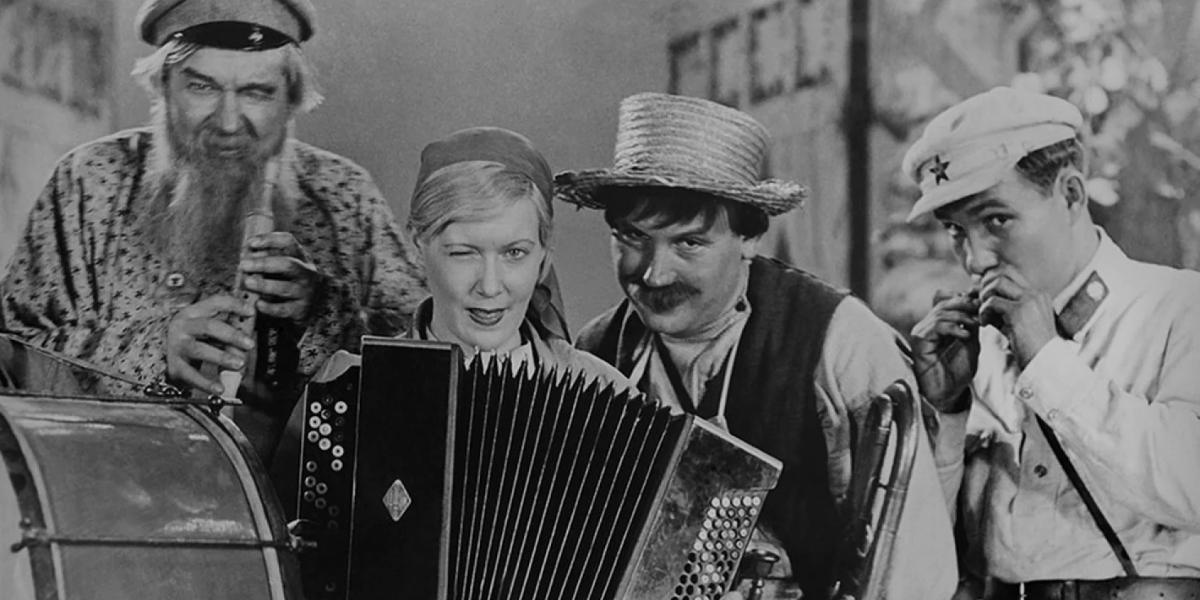 Кадр из фильма «Волга-Волга». Режиссер Григорий Александров. 1938 год