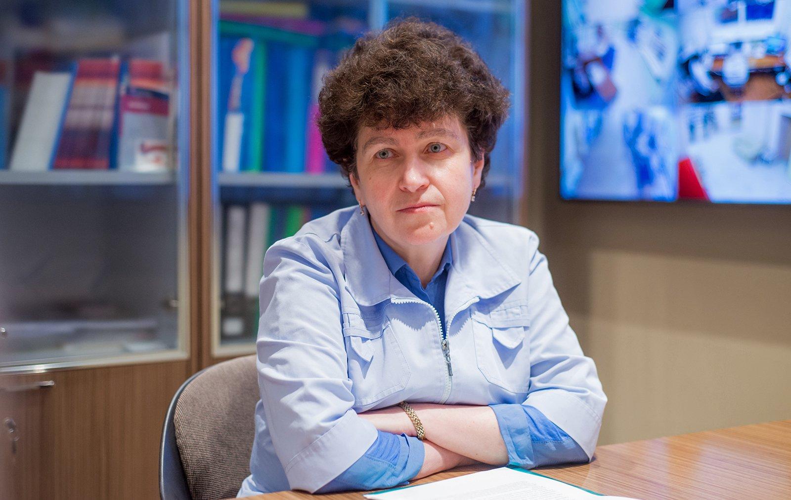 Елена Петряйкина, главный врач Морозовской больницы