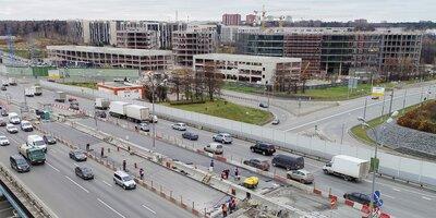 Капитальный ремонт Сколковского путепровода закончат в феврале