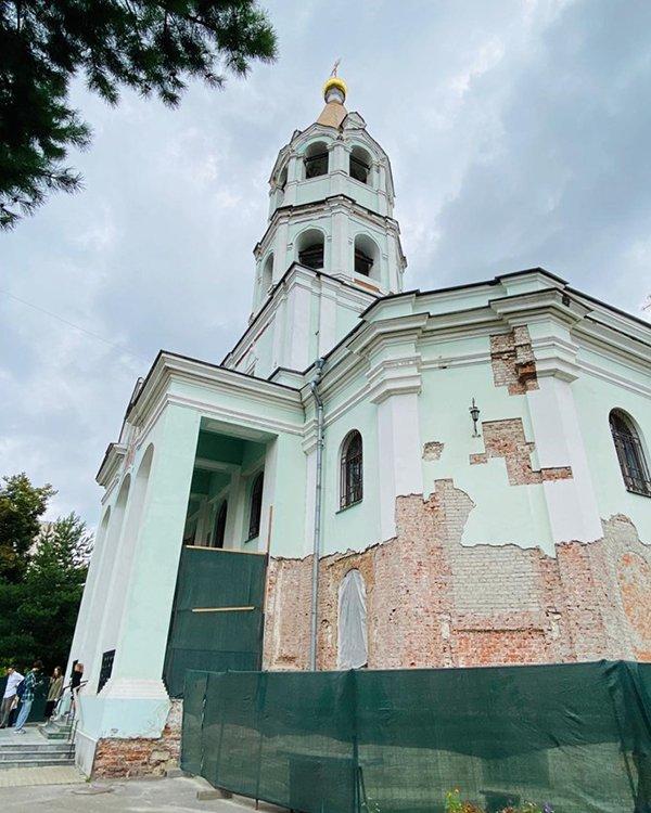 Образец неорусского стиля: как отреставрируют храм святителя Николая на Трех Горах