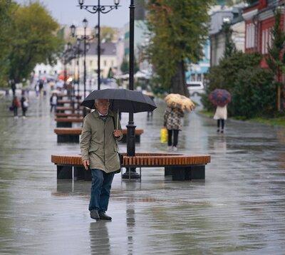 На этой неделе в Москве будет облачно и дождливо