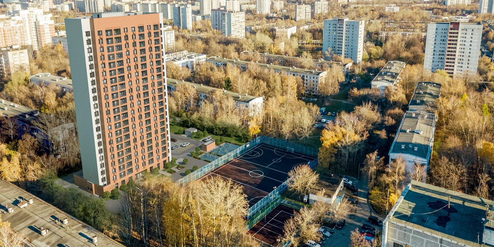 Планировки квартир ул. Керченская, влд. 30, к. 1 (ЮЗАО) - стартовый дом в Зюзино