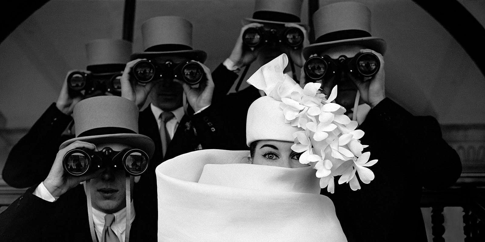 Шляпка «Givenchy». Для «JDM». Автор Франк Орват. Париж, Франция. 1958 год