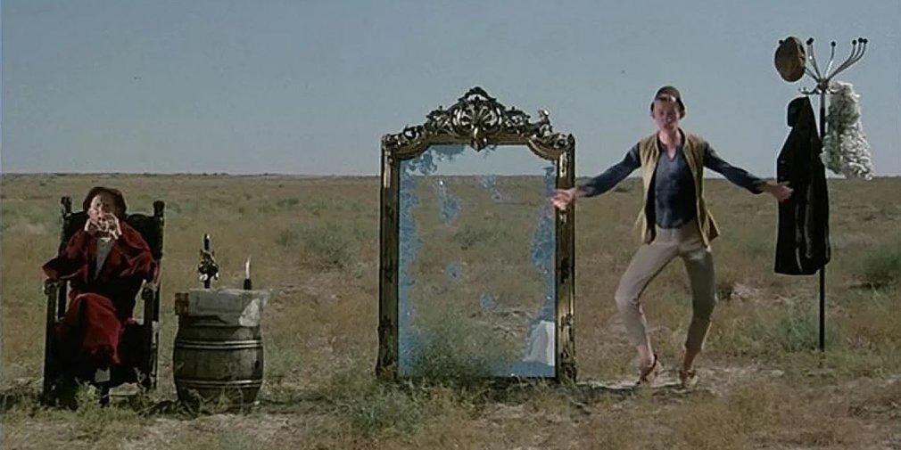 Кадр из фильма «Слезы капали». Режиссер Г. Данелия. 1982 год