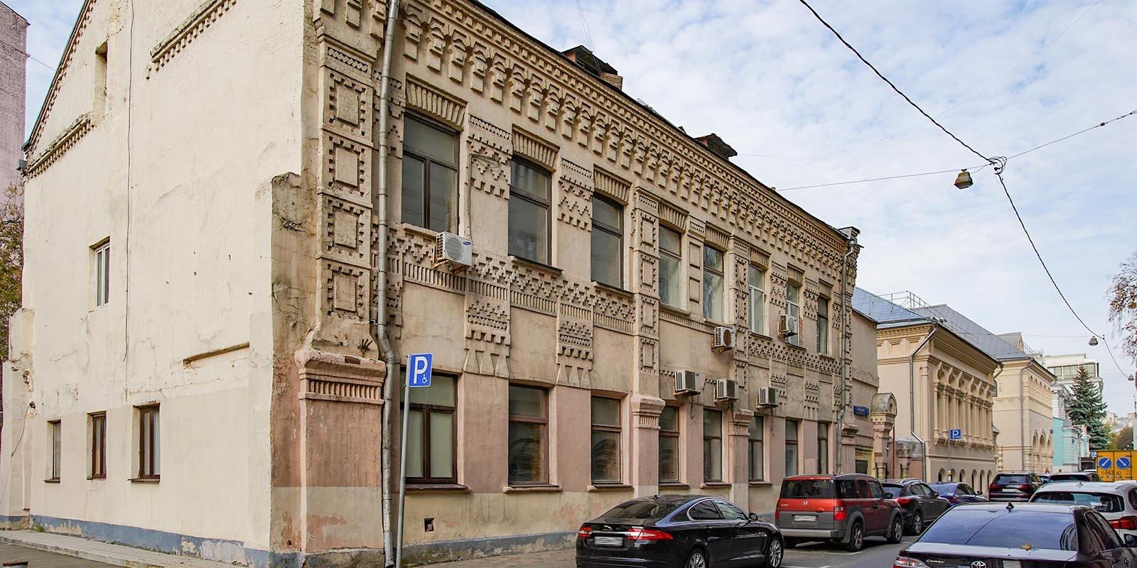 Anatoly I. Mamontov's printing shop in Leontievsky Pereulok Street. Photo by Yevgeny Samarin. Mos.ru
