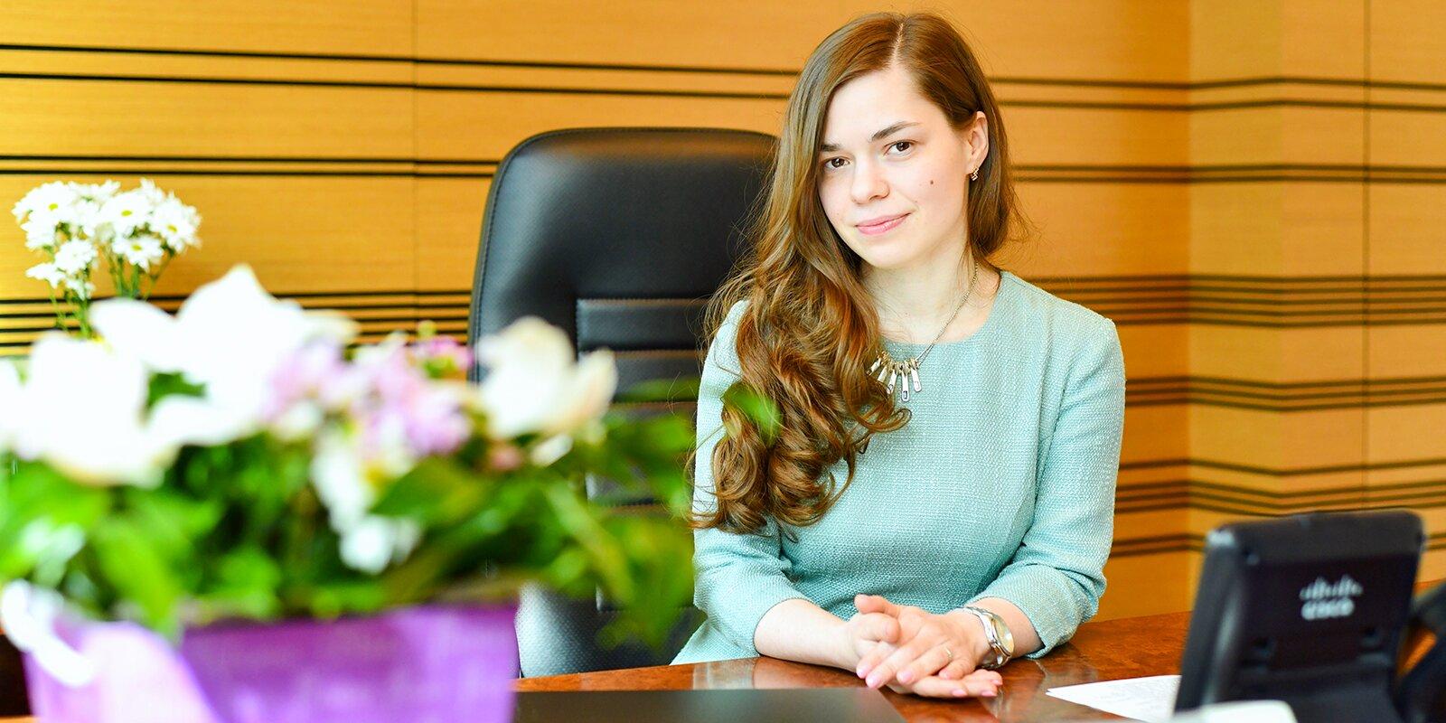 Юлия Куликова, директор ГБУ «Мосстройинформ».  Фото Ю. Иванко. Mos.ru