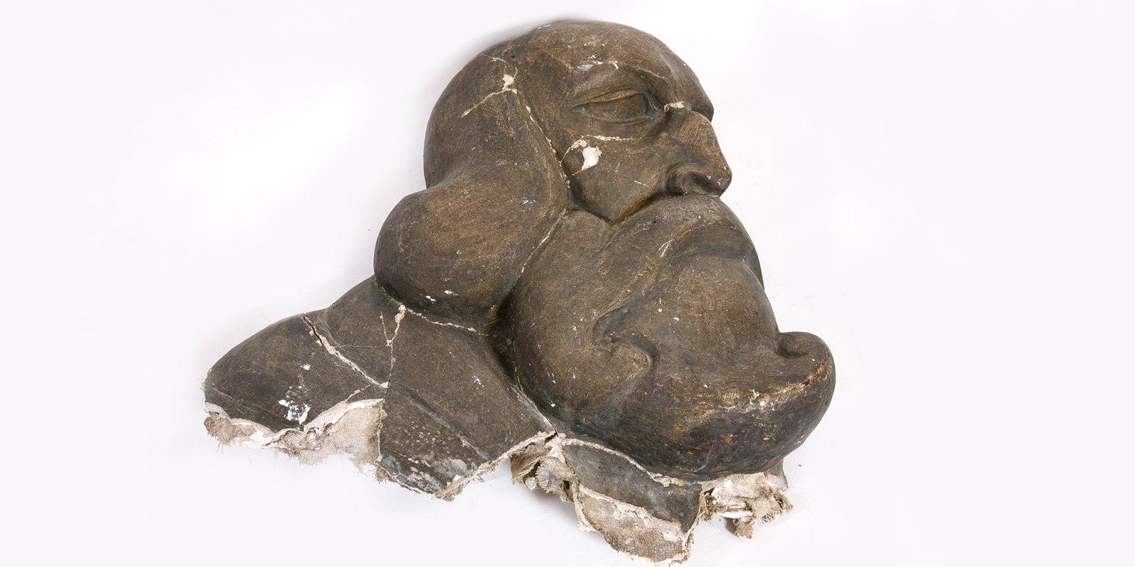Vasily Vatagin. Andrei Rublev's Head