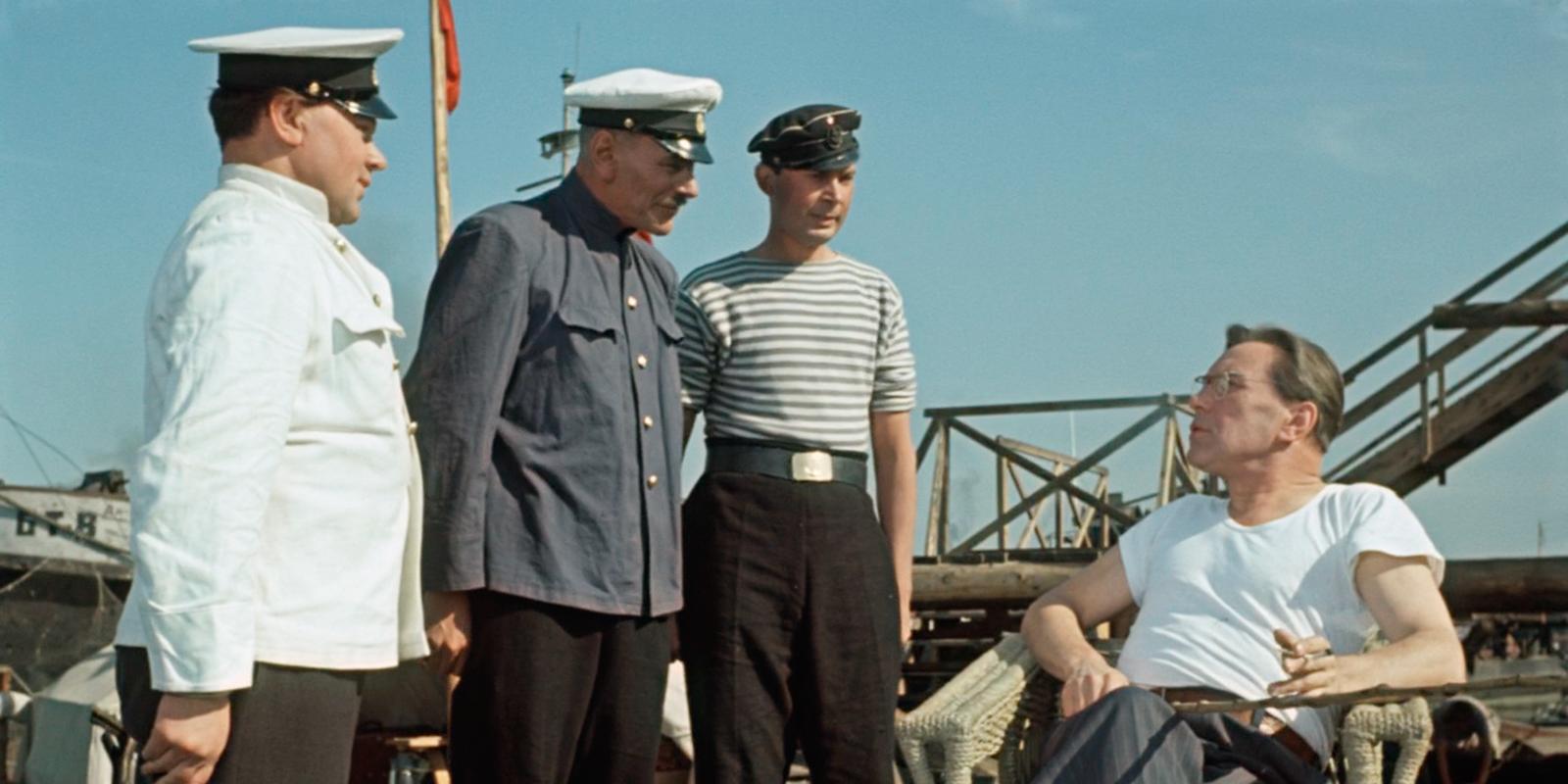 Кадр из фильма «Верные друзья». Режиссер Михаил Калатозов. 1954 год