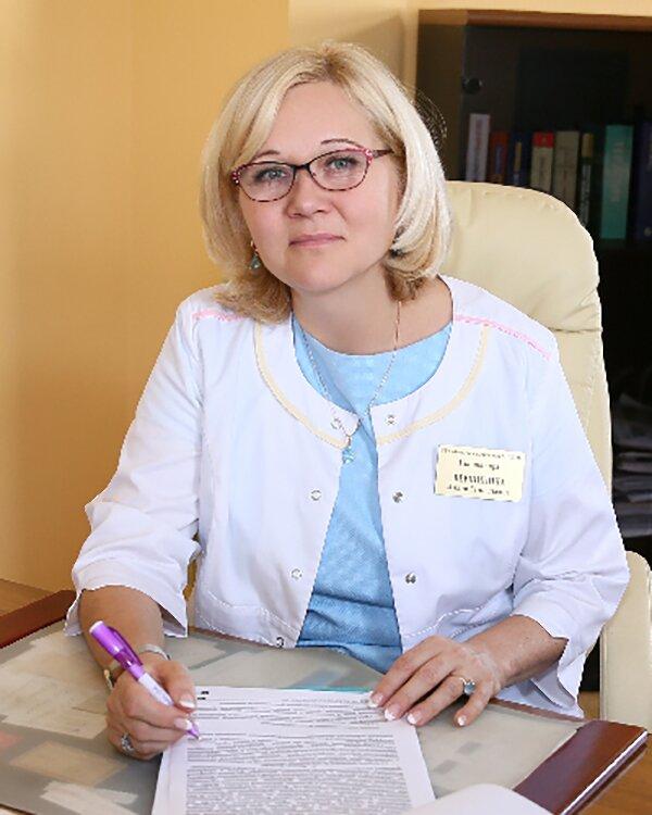 Liliya Vershinina, Chief Physician of City Polyclinic No. 22