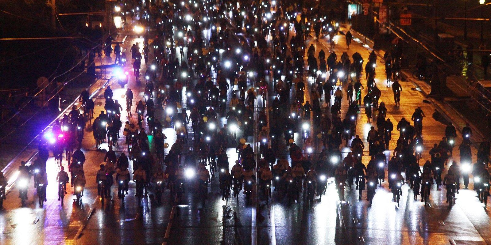 Собянин позвал жителей столицы наночной велопарад 4августа