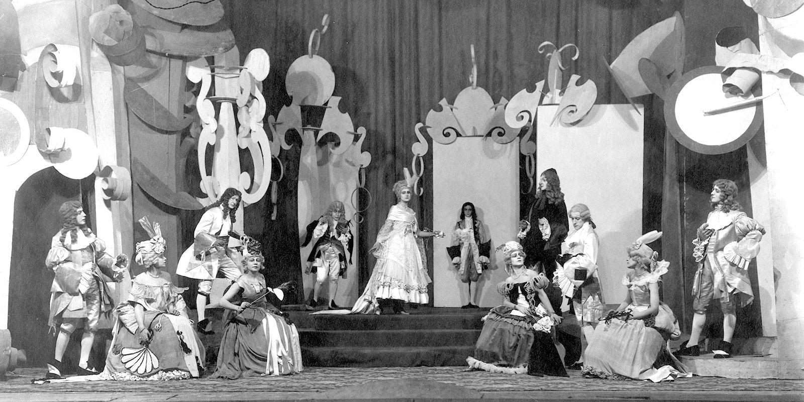 'Adrienne Lecouvreur'. Courtesy of Pushkin Theatre
