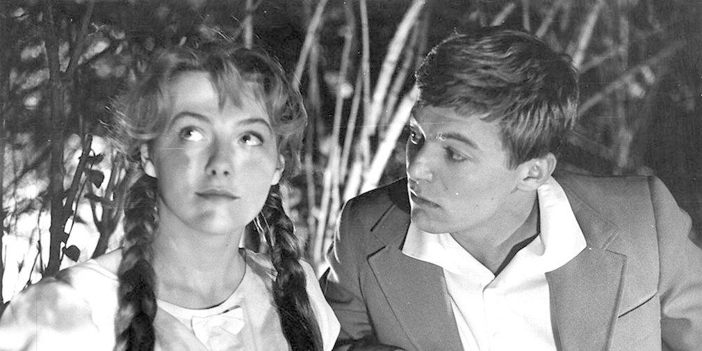 Кадр из фильма «Чистые пруды». Режиссер Алексей Сахаров. 1965 год