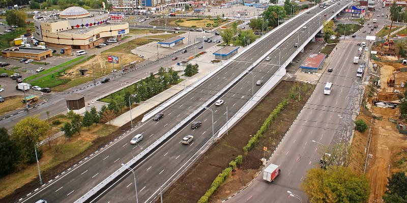Almost 280 kilometres of roads to be built in Moscow by 2020
