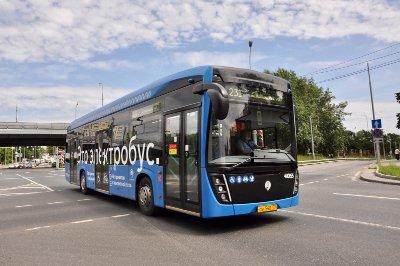 Электробусы начали работать на маршруте № 231