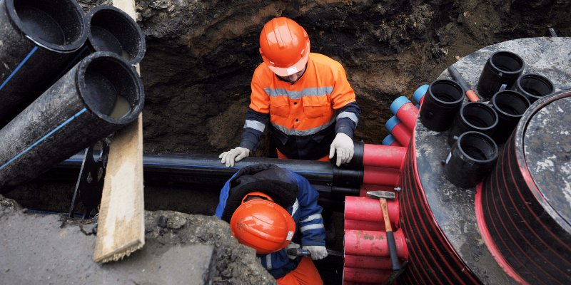 Fire, water and polyethylene pipes: Moscow utility lines upgraded under the programme My Street