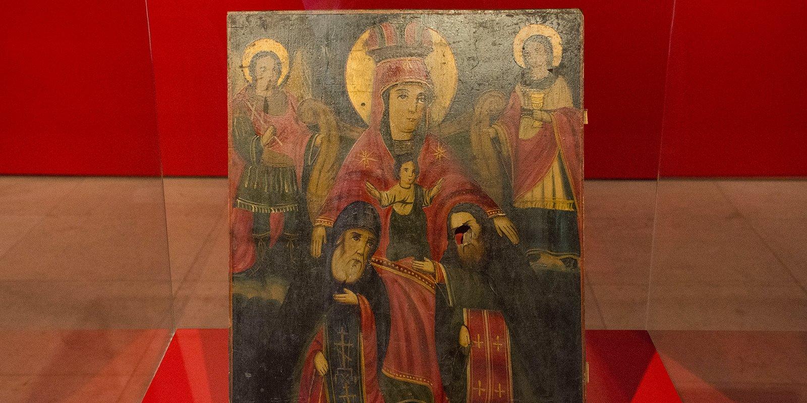Икона Божьей Матери Печерской