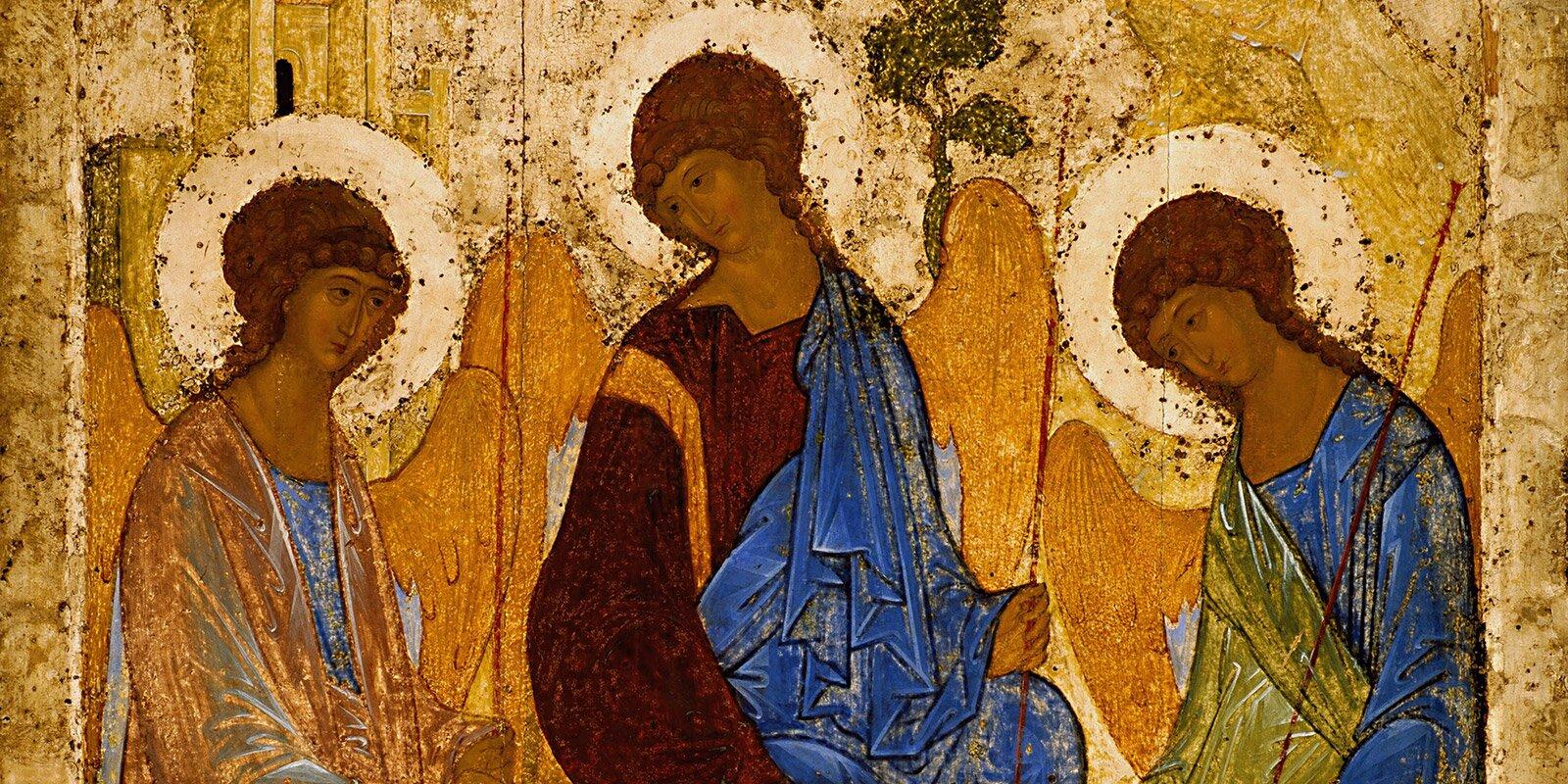 А. Рублев. Троица. 1411 год или 1425–1427 годы