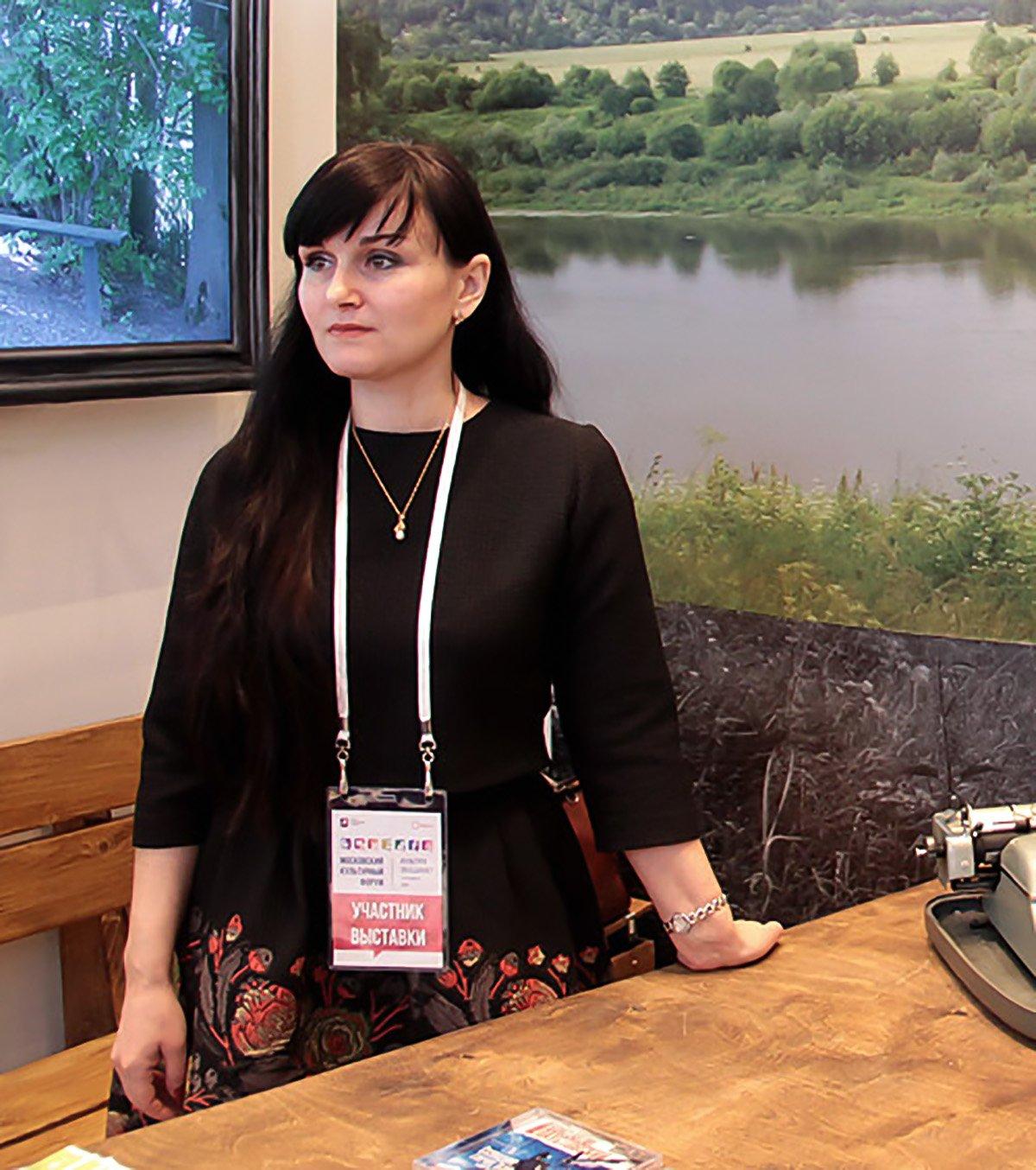 Irina Pakhomova, chief curator of the Paustovsky Museum