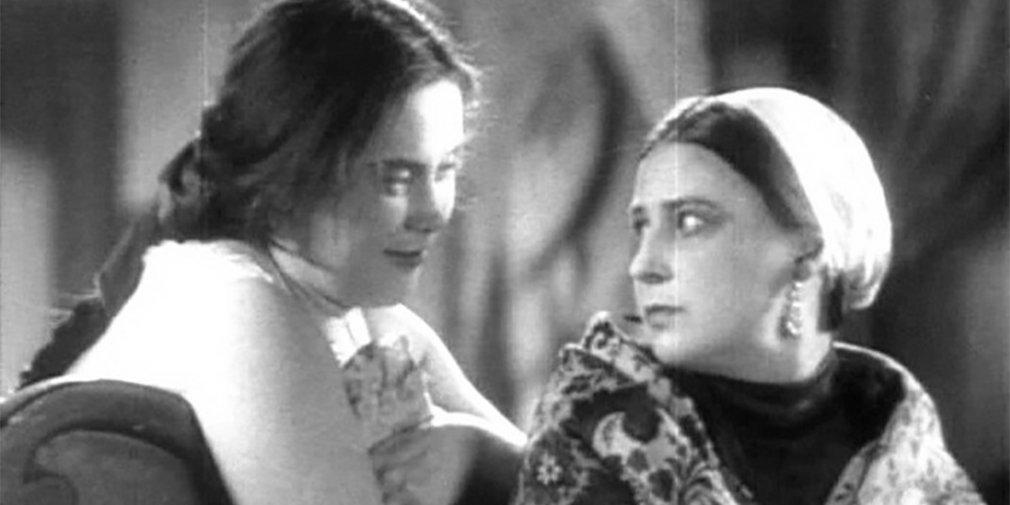 Кадр из фильма «Гроза». Режиссер Владимир Петров. 1933 год